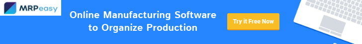 Simple yet powerful production management software for small manufacturers